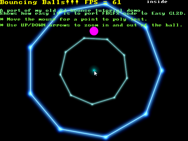Drawing Lines Using Opengl : Shiny and glowing stuff