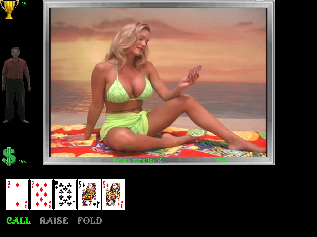 free strip poker online game